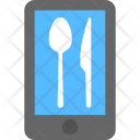 Food Service Mobile Icon