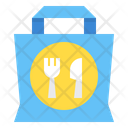 Restaurant Delivery Bag Icon
