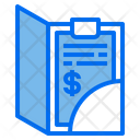Bill Payment Receipt Icon