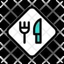 Restaurant Board Food Board Board Icon