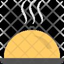 Restaurant Cloche Food Icon
