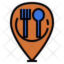Restaurant Location Icon