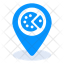 Restaurant Location Food Location Pizza Location Icon