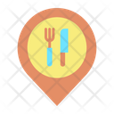 Mnearby Restaurants Restaurant Location Fast Food Location Icon