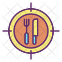 Mfood Map Pointer Restaurant Location Fast Food Location Icon