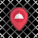 Restaurant Map Hotel Icon