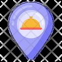 Food Location Restaurant Location Restaurant Pointer Icon