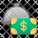 Pay Food Money Icon