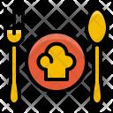 Kitchen Fork Spoon Icon