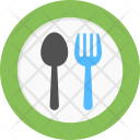 Dinnerware Fork And Icon