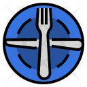 Ready Plate Utensils Icon