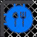 Restaurant Kitchen Sign Icon
