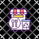 Waste Restaurant Management Icon