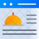 Restaurant Website Icon