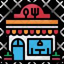 Restaurent Shop Store Icon