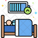 Rested Energized Electric Energy Icon