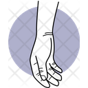 Resting Hand Resting Fingers Icon