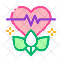 Plant Restoration Heart Icon