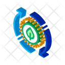 Restoration Nature Recycle Icon