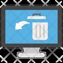 Recycling Data Restore Data Data Backup Icon