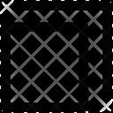 Restore Down Direction Icon