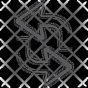 Restore Arrows Icon