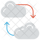 Cloud Backup Online Icon