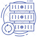 Server Renew Database Recycling Data Center Icon
