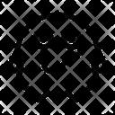 Restrained Emoticon Emoji Icon