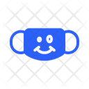 Restrained Mask Virus Icon