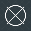Restriction Sign Out Icon