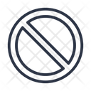 Restriction Error Cancel Icon