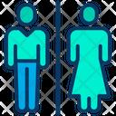 Toilet Gents And Ladies Both Restroom Icon