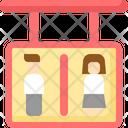 Man Woman Restroom Icon