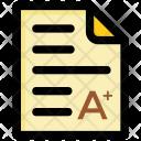 Resulat Icon