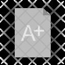 Result Paper Grade Icon
