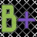 B Plus Education Icon