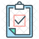 Result Clipboard Document Icon