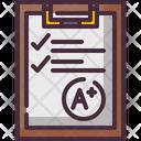 Exam Task Test Icon