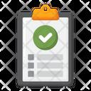 Results Checklist Check Icon