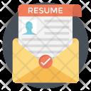 Resume Cv Curriculum Icon