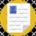 Folder File Resume Icon