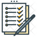 Resume Notes List Icon