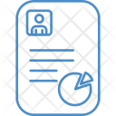 Resume Cv Chart Icon