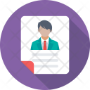 Profile Job Applicant Icon
