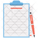 Office Document File Official Papers Icon