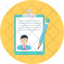 Resume Writing Editing Pencil Icon