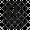 Resume Cv Job Application Icon