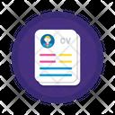 Resume Employee Resume Cv Icon
