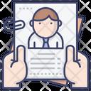 Resume Job Application Icon